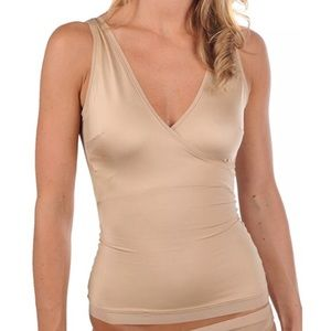 Spans slimplicity wrap top compression cami